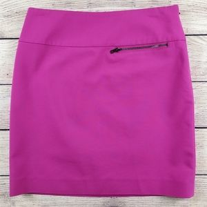 And Taylor fuchsia above knee pencil skirt pink